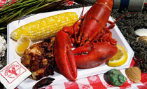 Woodmans All American Clambake Menu - Lobster